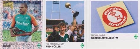 Werder Aufkleber Gold by Vorstellung Lebenslang Gr 252 N Weiss Unser Sv Werder