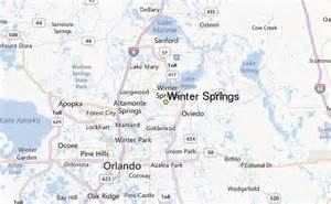 Winter springs weather station record historical weather for winter