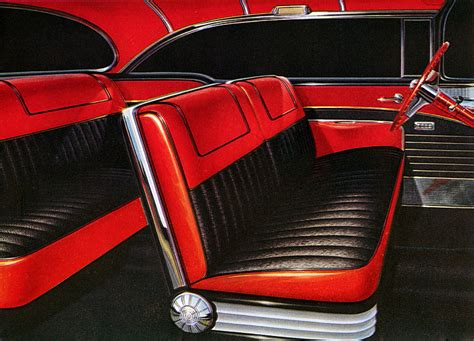 vintage car upholstery interior design