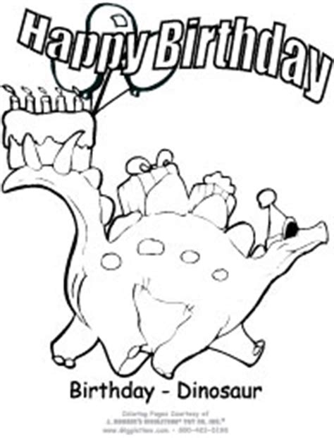 birthday dinosaur coloring page birthday coloring pages giggletimetoys com