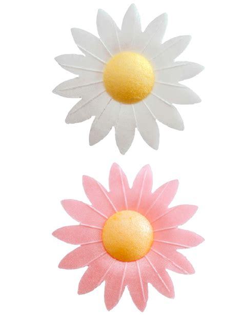 fiori di ostia per torte 8 decorazioni per dolci fiori in ostia su vegaooparty