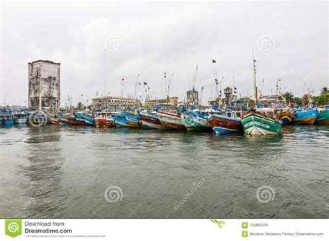 fishing boat price in sri lanka fishing boats stand in galle harbour sri lanka editorial