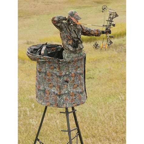 tree stand covers the cover all blind from big 174 treestands 167470