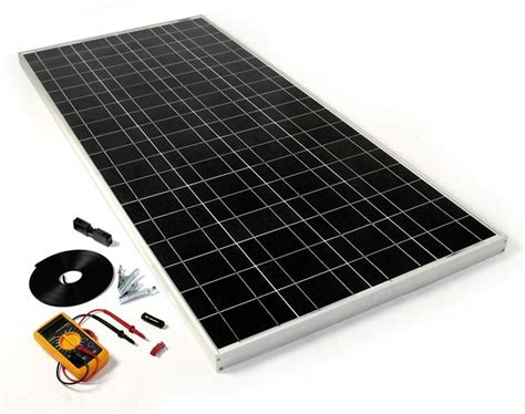 diy solar kits diy solar panel kit 120w