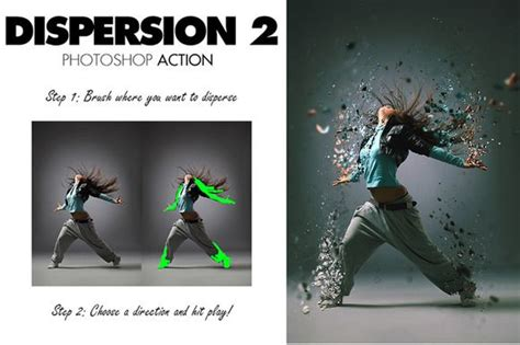 typography 2 photoshop action tutorial dispersion 2 photoshop action by sevenstyles on creative