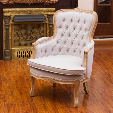 Traditional Accent Chairs Living Room Traditional Living Room W Beige Accent Chair