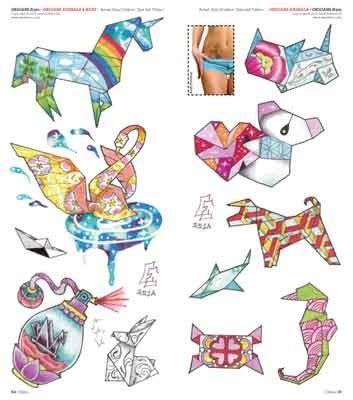 tattoo animal origami idea tattoo 204 nov dic 2015