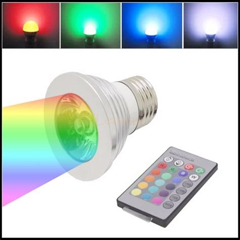 Lu Sorot Led Warna Warni lu led warna warni dengan remote
