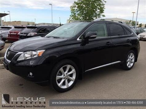2007 lexus rx350 awd walkaround youtube lexus certified pre owned black on parchment 2011 rx 350