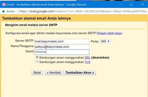 membuat gmail sendiri cara membuat email domain sendiri dengan gmail gratis