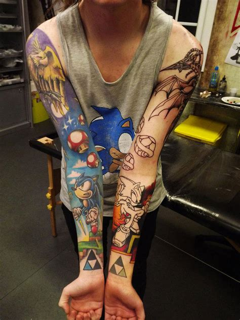 old school zelda tattoo 80 tatouages geeks qui font r 234 ver