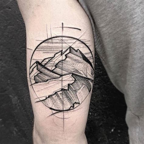 tattoo geometric lines superb tattoos with geometric lines fubiz media