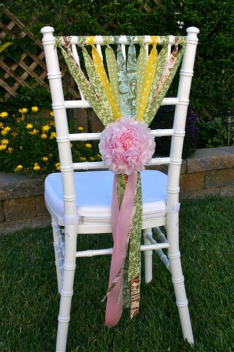 Diy Baby Shower Chair by Shabby Chic Chair Diy Decor Tip Junkie