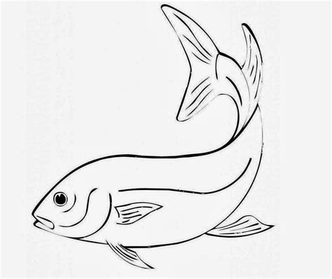 coloring pages cute fish free cute fish coloring pages