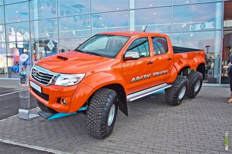 18 toyota hilux at38 6x6