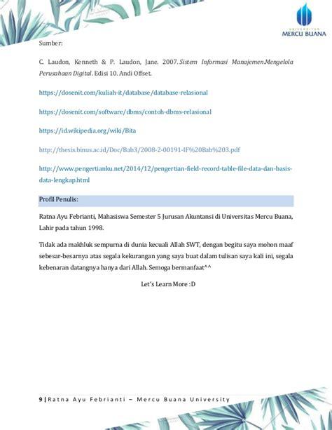 Sistem Informasi Manajemen 2 Edisi 10 Laudon sim ratna ayu febrianti hapzi ali sistem manajemen