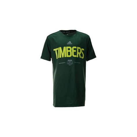 Climalite T Shirt Kaos Adidas Sportswear For And 7 adidas boys portland timbers team logo climalite t shirt in green for lyst