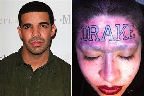 drake tattoo girl update drake wants to meet tattooed fan threatens artist