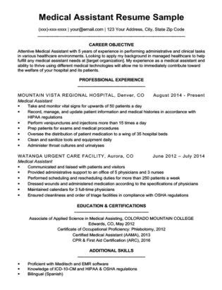 physician assistant resume templates lovely medical assistant cover