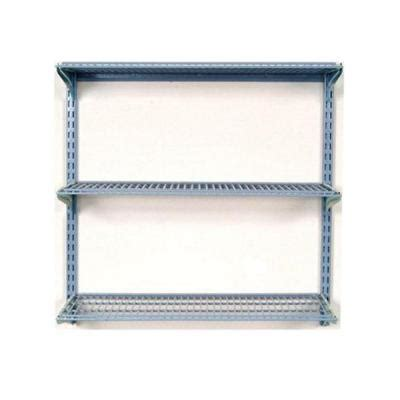 home depot wall shelving storability 33 in l x 31 5 in h wall mount shelving unit with 3 wire shelves and mounting