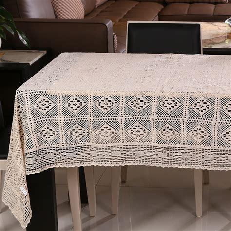 Handmade Table Cloth - 110 160cm handmade table cloth crochet table runner dining