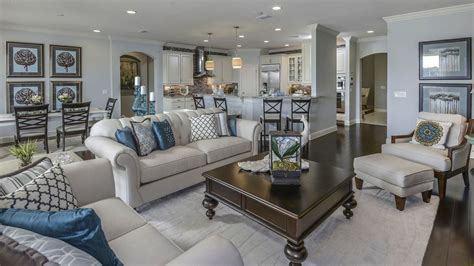 ballard designs jacksonville traditional great room with hardwood floors pendant