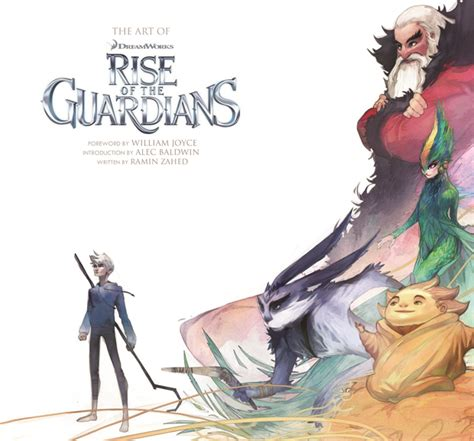 awn books book review the art of rise of the guardians