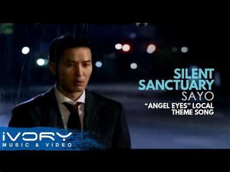 theme song angel eyes silent sanctuary sa yo quot angel eyes quot local theme song