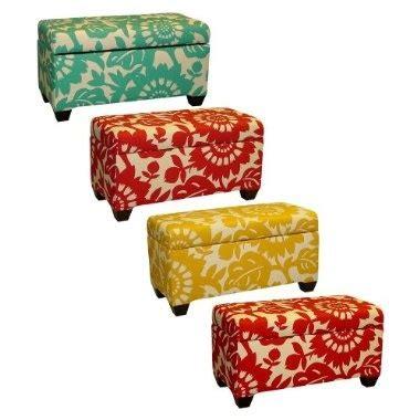colorful storage bench colorful storage bench new living room pinterest yellow