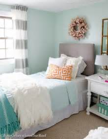 Teal Striped Curtains Best 25 Aqua Girls Bedrooms Ideas On Pinterest Coral