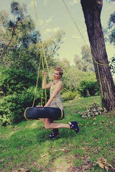 vintage tree swing woman on swing vintage uploaded to pinterest women on