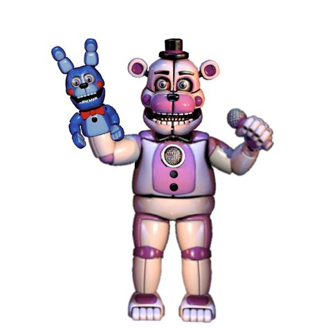 fun time freddy funtime freddy front view by nightmarefreddy05 on deviantart