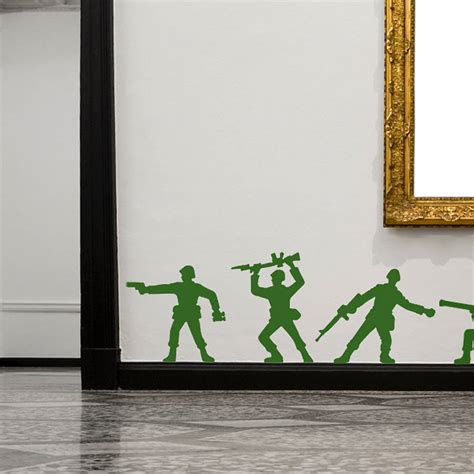 soldier wall stickers soldier wall stickers by spin collective