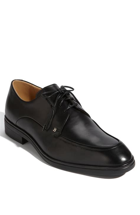 bally oxford shoes bally castions oxford in black for lyst