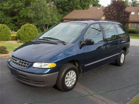 2000 plymouth grand voyager workshop manual