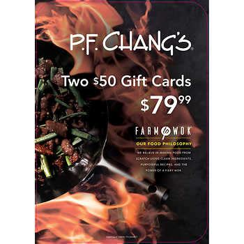 Pf Changs Gift Card Costco - costco secrets that every retiree needs to know