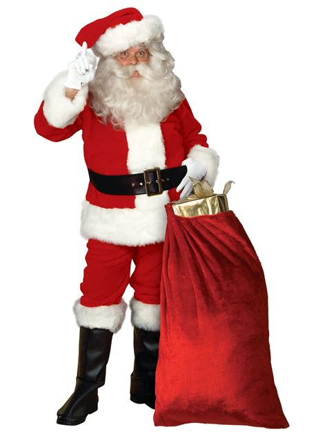 mens xxxl imperial santa suit