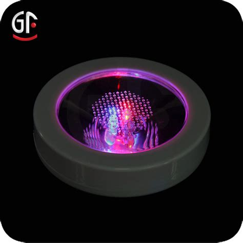 christmas wholesale led lights pad on middle color