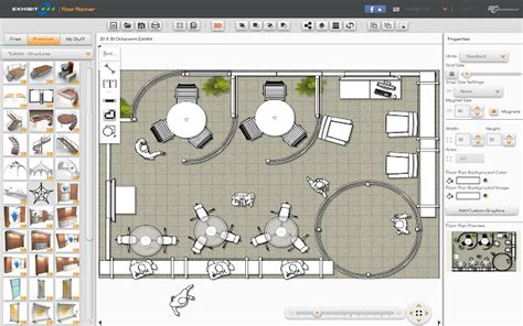 free event layout software exhibitcore floor planner chrome web store