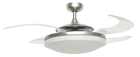 ceiling fan retractable blades retractable ceiling fan home design