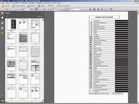 motor repair manual 2011 dodge caliber user handbook dodge caliber service manual