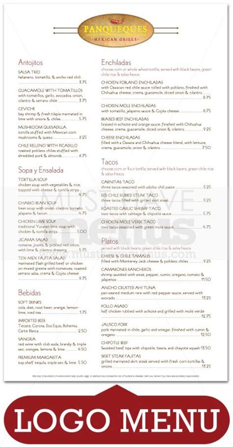 modern mexican kitchen menu mexican kitchen menu page 1