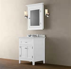 White Powder Room Vanity Cartwright Powder Room Vanity Base