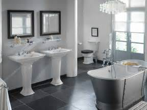 Grey Bathroom Decorating Ideas Contemporary Bathroom Sterling Carpentry