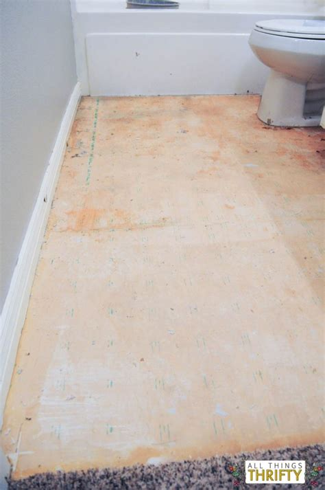 How To Install Peel And Stick Vinyl Plank Flooring by How To Easily Install Peel And Stick Vinyl