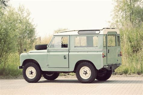 land rover rear 1968 land rover series iia