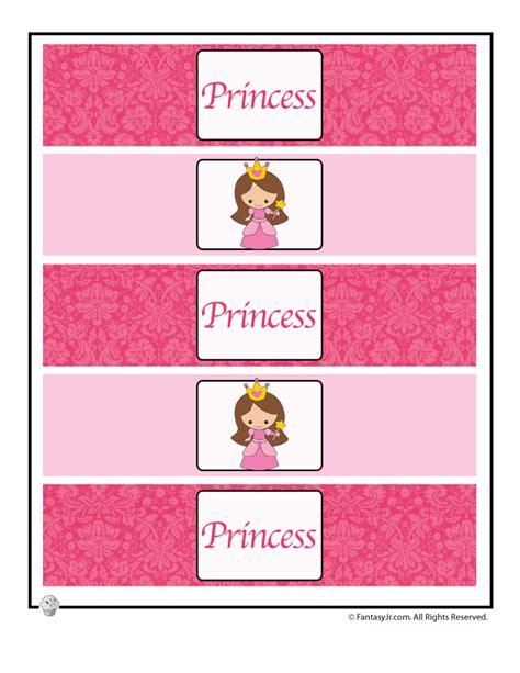 free printable princess birthday decorations cute princess party printable table decorations water