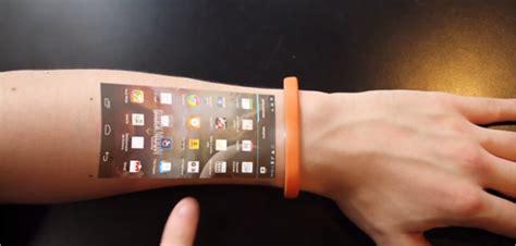 Cicret Bracelet : votre smartphone sur votre avant bras