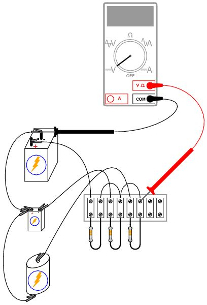 resistor networks experiment lessons in electric circuits volume vi experiments chapter 3
