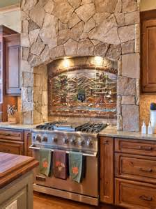 Brick Backsplashes For Kitchens rustic stone kitchen with country appeal heather guss hgtv